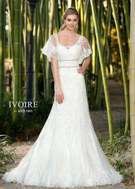 Jillian gown from the 2016 KittyChen Ivoire collection, as seen on dressfinder.ca