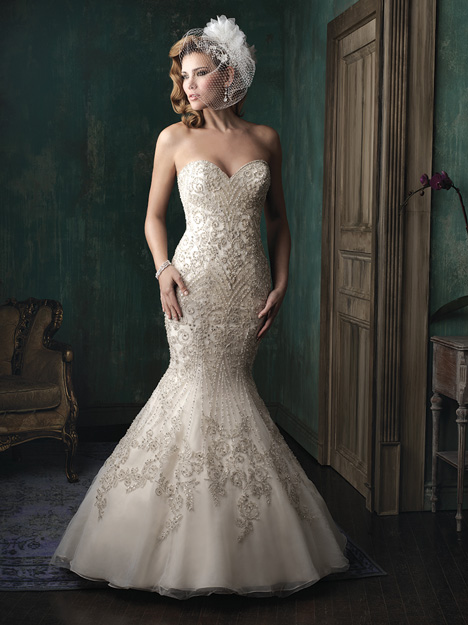 C348 gown from the 2015 Allure Couture collection, as seen on dressfinder.ca