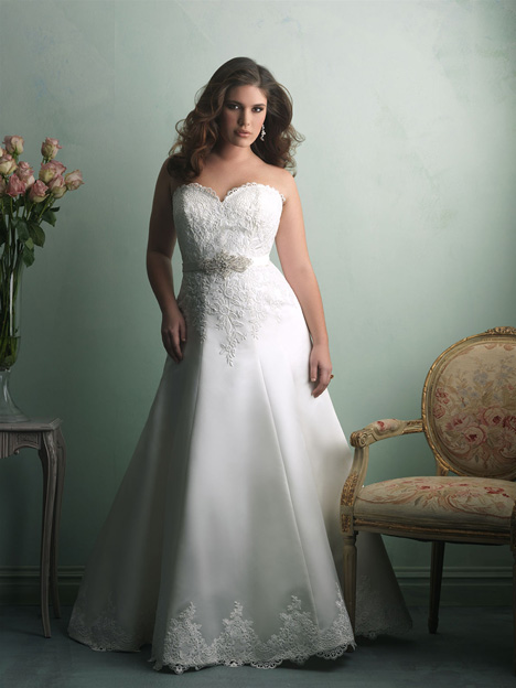 W345 gown from the 2014 Allure Women collection, as seen on dressfinder.ca
