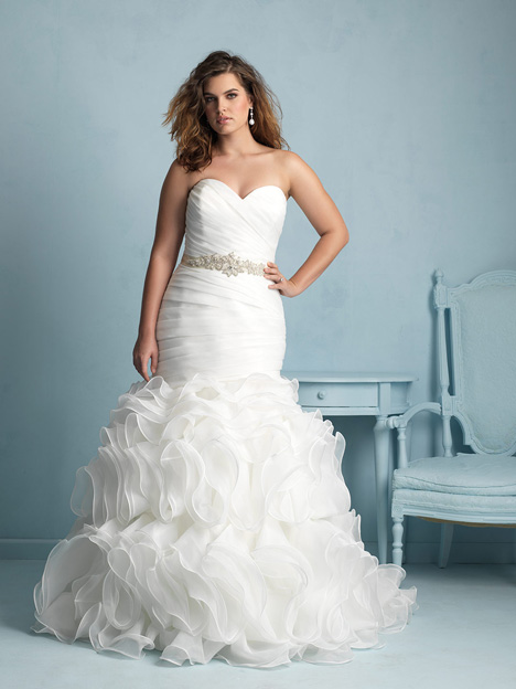 W353 gown from the 2015 Allure Women collection, as seen on dressfinder.ca