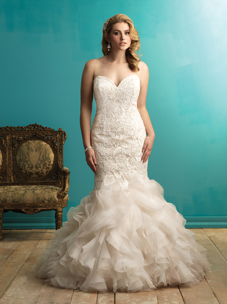 W365 gown from the 2015 Allure Women collection, as seen on dressfinder.ca