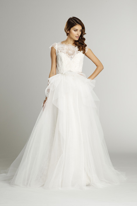 9552 + S552 Overskirt gown from the 2015 Alvina Valenta collection, as seen on dressfinder.ca