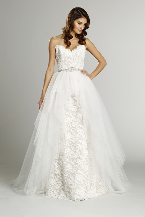 9553 + S553 Overskirt gown from the 2015 Alvina Valenta collection, as seen on dressfinder.ca