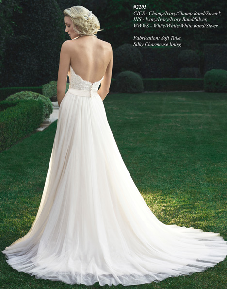 2205 (2) gown from the 2015 Casablanca Bridal collection, as seen on dressfinder.ca