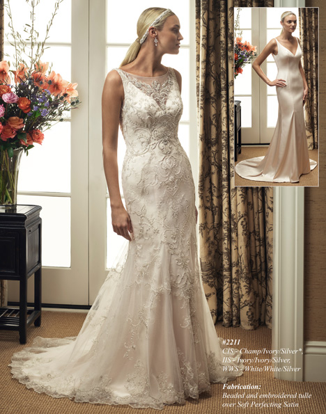 2211 gown from the 2015 Casablanca Bridal collection, as seen on dressfinder.ca