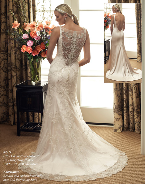 2211 (2) gown from the 2015 Casablanca Bridal collection, as seen on dressfinder.ca