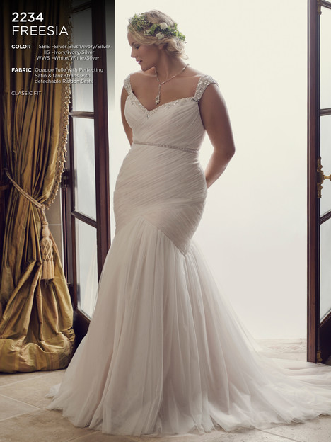 Freesia (Classic) gown from the 2016 Casablanca Bridal collection, as seen on dressfinder.ca