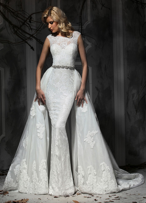 10365 + Overskirt gown from the 2015 Impression collection, as seen on dressfinder.ca