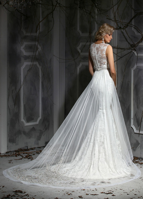 10353 + Overskirt gown from the 2015 Impression collection, as seen on dressfinder.ca