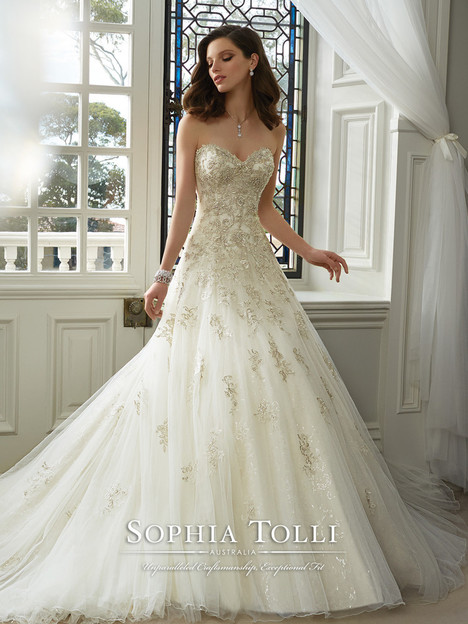 Kim Gown From The 2016 Sophia Tolli Collection As Seen On Dressfinderca