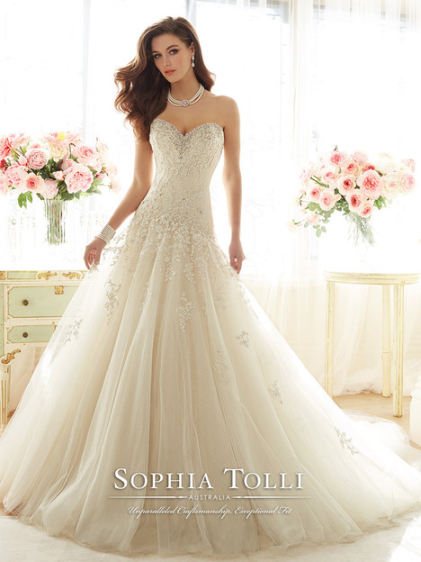 Marquesa (Y11637) gown from the 2016 Sophia Tolli collection, as seen on dressfinder.ca