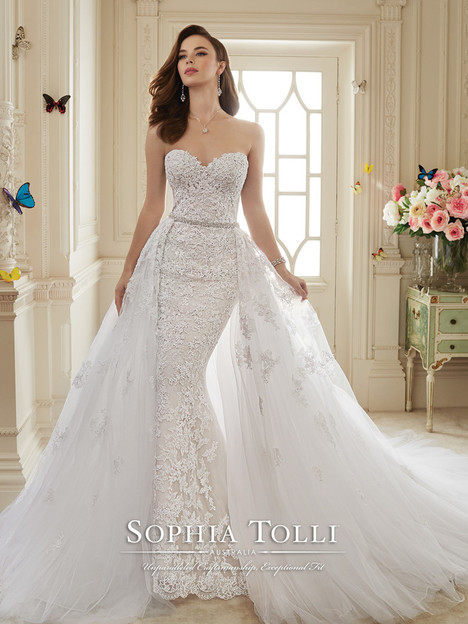 Maeve (Y11652) (Overskirt) gown from the 2016 Sophia Tolli collection, as seen on dressfinder.ca