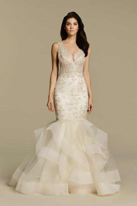 #2608 gown from the 2016 Tara Keely by Lazaro collection, as seen on dressfinder.ca