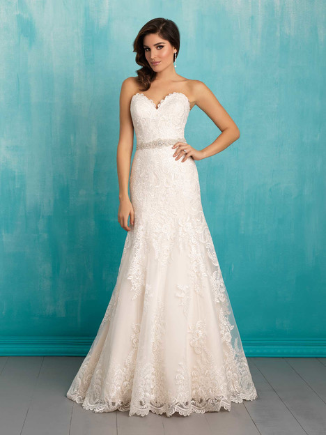 9302 gown from the 2016 Allure Bridals collection, as seen on dressfinder.ca