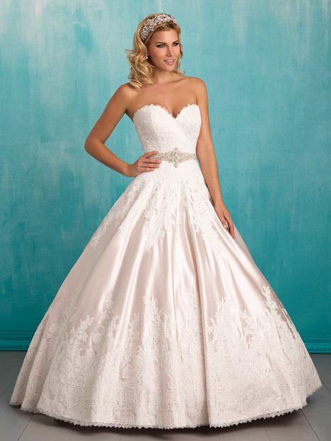 9303 gown from the 2016 Allure Bridals collection, as seen on dressfinder.ca