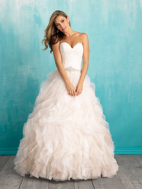 9308 gown from the 2016 Allure Bridals collection, as seen on dressfinder.ca