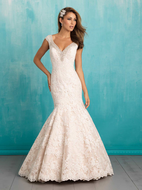 9311 gown from the 2016 Allure Bridals collection, as seen on dressfinder.ca