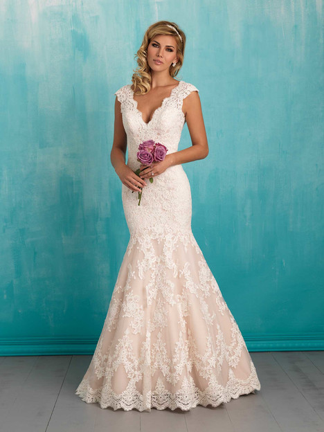 9320 gown from the 2016 Allure Bridals collection, as seen on dressfinder.ca