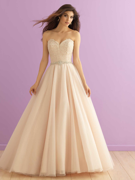 2915 gown from the 2016 Allure Romance collection, as seen on dressfinder.ca