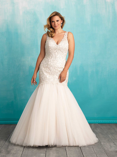 W377 gown from the 2016 Allure Women collection, as seen on dressfinder.ca