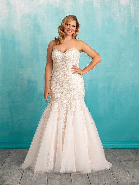 W375 gown from the 2016 Allure Women collection, as seen on dressfinder.ca