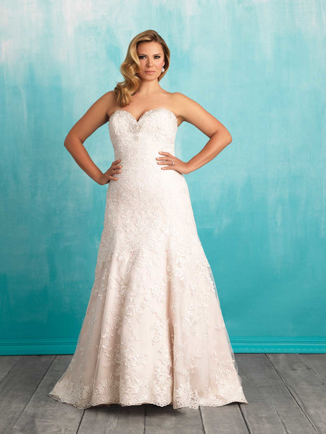 W373 gown from the 2016 Allure Women collection, as seen on dressfinder.ca