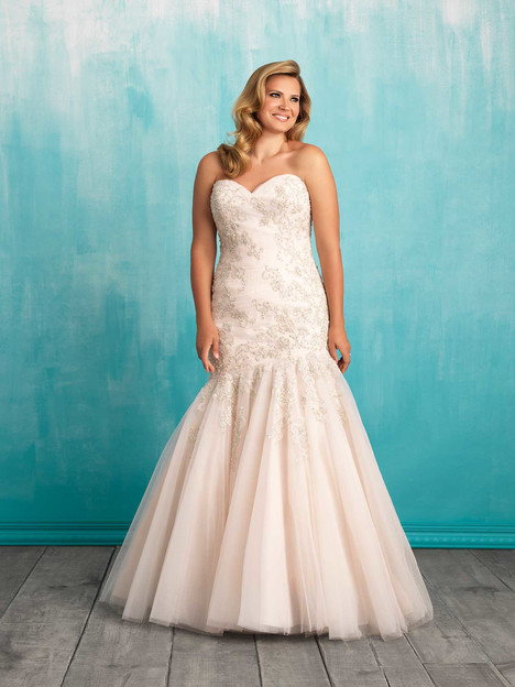 W372 gown from the 2016 Allure Women collection, as seen on dressfinder.ca
