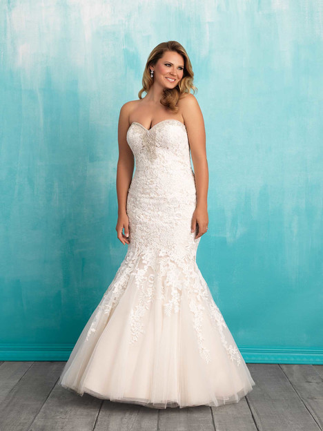 W371 gown from the 2016 Allure Women collection, as seen on dressfinder.ca