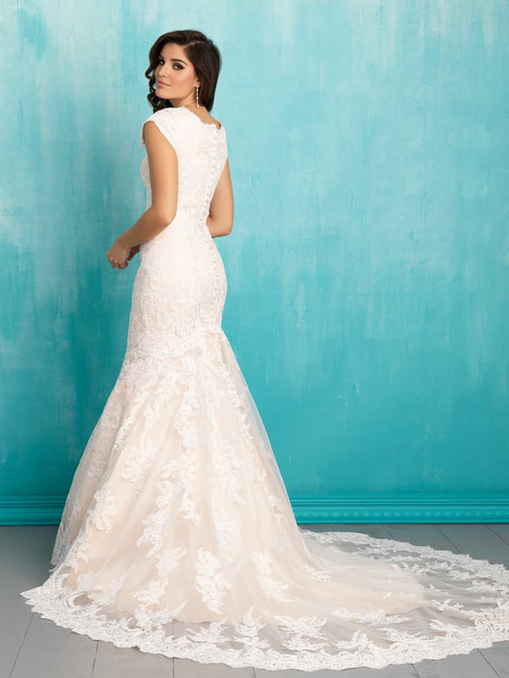 M556 (2) gown from the 2016 Allure Bridals: Allure Modest collection, as seen on dressfinder.ca