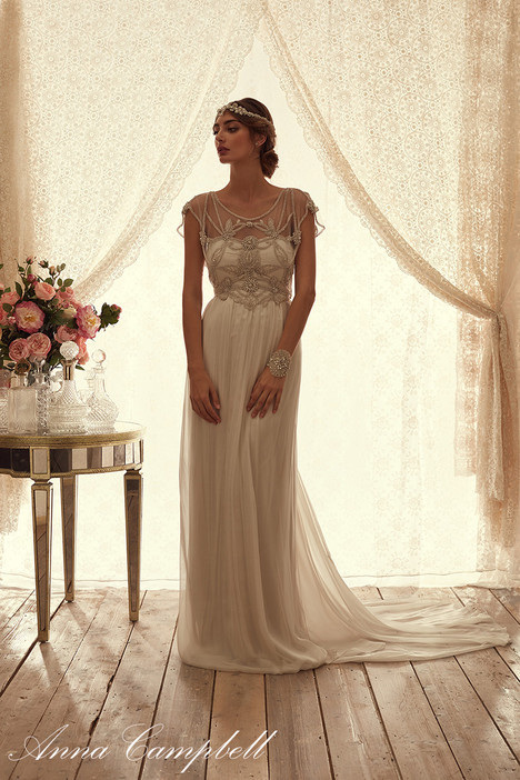 Adelaide Silk Chiffon Wedding Dress By Anna Campbell Dressfinder