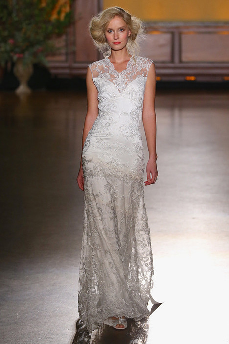 Bijoux gown from the 2016 Claire Pettibone : Romantique collection, as seen on dressfinder.ca