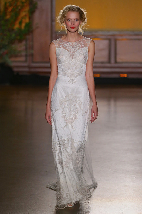 Eva gown from the 2016 Claire Pettibone: Romantique collection, as seen on dressfinder.ca