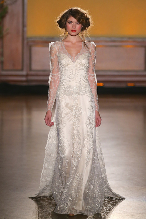 Sinclair gown from the 2016 Claire Pettibone : Romantique collection, as seen on dressfinder.ca
