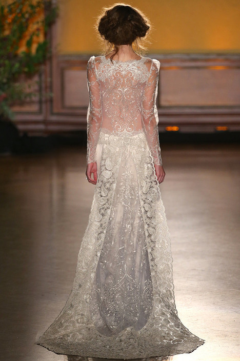 Sinclair (2) gown from the 2016 Claire Pettibone : Romantique collection, as seen on dressfinder.ca
