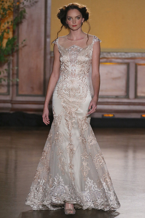Vanderbilt gown from the 2016 Claire Pettibone : Romantique collection, as seen on dressfinder.ca