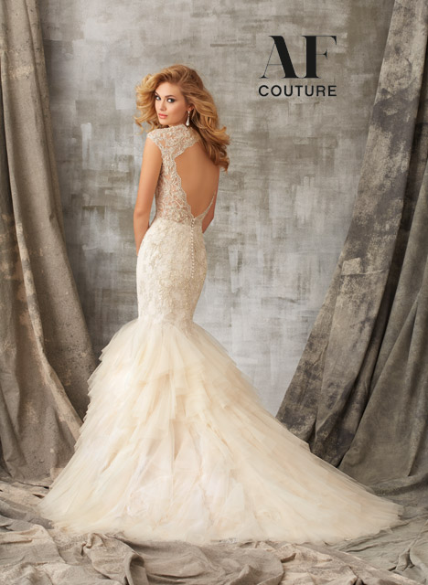 1341 (back) gown from the 2015 Mori Lee: AF Couture collection, as seen on dressfinder.ca
