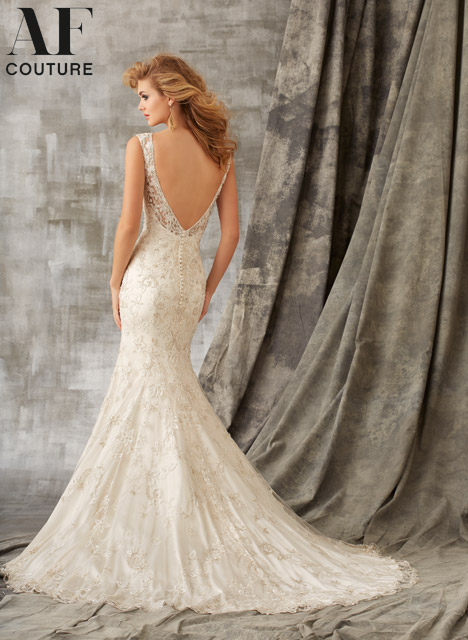 1342 (back) gown from the 2015 Mori Lee: AF Couture collection, as seen on dressfinder.ca