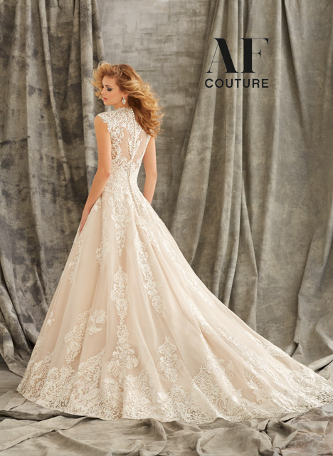 1344 (back) gown from the 2015 Mori Lee: AF Couture collection, as seen on dressfinder.ca
