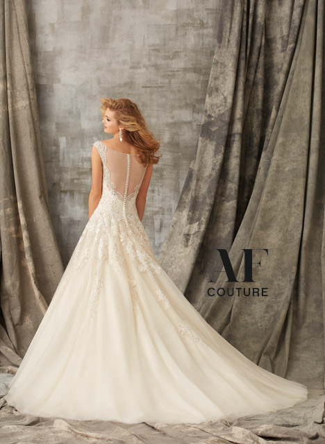 1351 (back) gown from the 2015 Mori Lee: AF Couture collection, as seen on dressfinder.ca