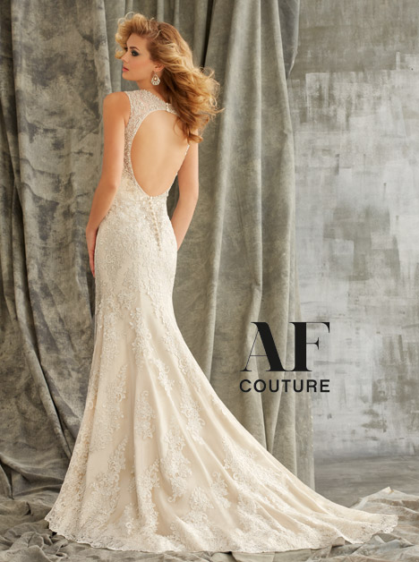 1352 (back) gown from the 2015 Mori Lee: AF Couture collection, as seen on dressfinder.ca