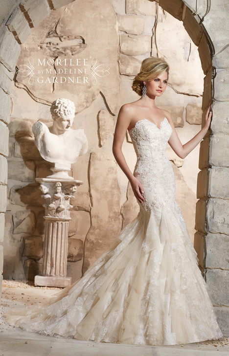 2772 gown from the 2015 Mori Lee: Bridal collection, as seen on dressfinder.ca