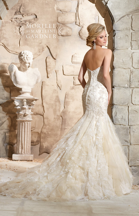 2772 (back) gown from the 2015 Mori Lee: Bridal collection, as seen on dressfinder.ca
