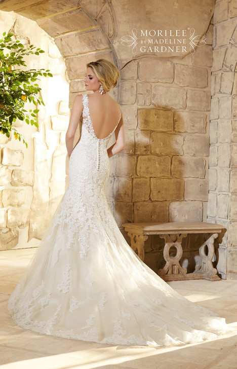 2773 (back) gown from the 2015 Mori Lee: Bridal collection, as seen on dressfinder.ca