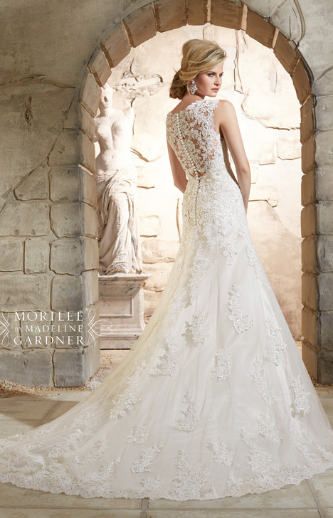 2785 (back) gown from the 2015 Mori Lee: Bridal collection, as seen on dressfinder.ca