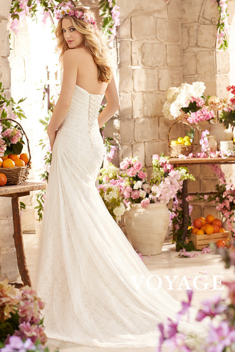 6802 (back) gown from the 2015 Mori Lee: Voyage collection, as seen on dressfinder.ca