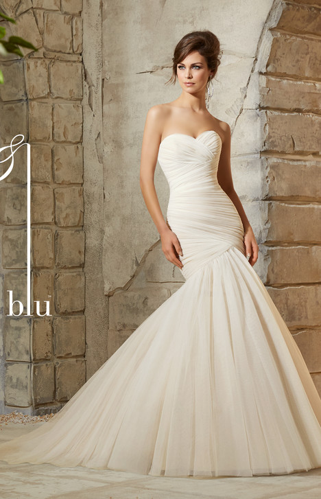 5108 gown from the 2015 Mori Lee: Blu collection, as seen on dressfinder.ca