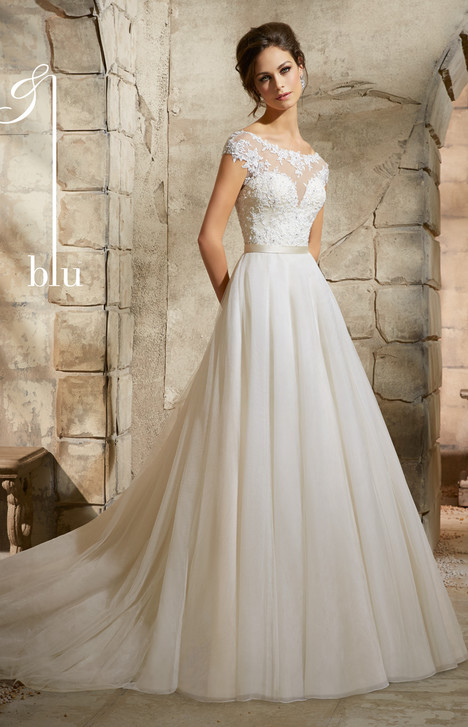 5362 gown from the 2015 Mori Lee: Blu collection, as seen on dressfinder.ca