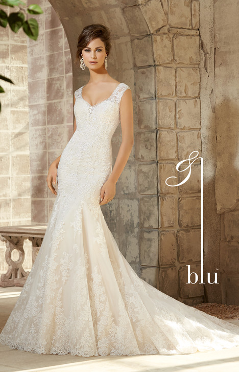 5363 gown from the 2015 Mori Lee: Blu collection, as seen on dressfinder.ca