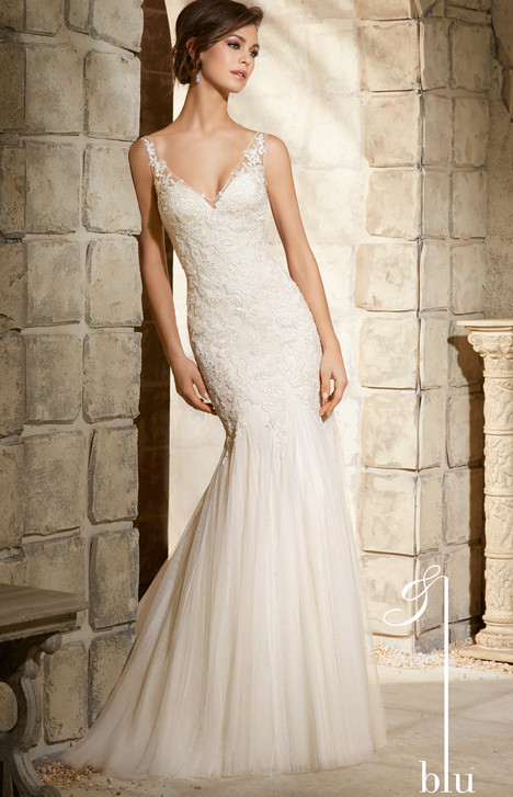 5365 gown from the 2015 Mori Lee: Blu collection, as seen on dressfinder.ca