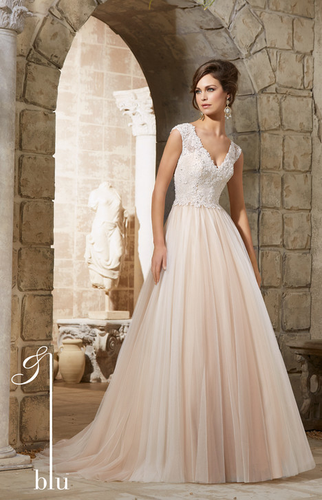 5368 gown from the 2015 Mori Lee: Blu collection, as seen on dressfinder.ca